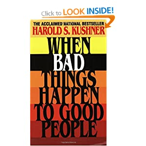a personal opinion on the book when bad things happen to good people by harold s kushner In 1981, in response to the death of his son, rabbi harold kushner wrote the classic when bad things happen to good people in recent days there's been such bad news about jobs and unemployment that rabbi kushner should consider writing a sequel: when bad things happen to good americans 23 million.