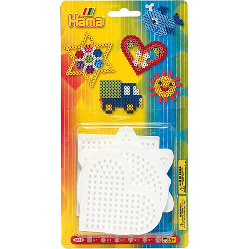 Hama / 5-Piece Set of Small Bead Boards for Fuse Beads
