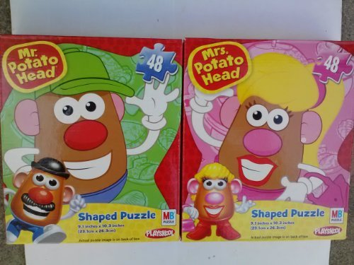 Mr. & Mrs. Potato Head 48 Piece Shaped Jigsaw Puzzle (Assorted, Designs Vary)