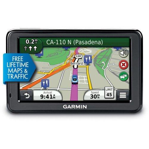 "New Garmin Nuvi 2455Lmt 4.3"" Portable W/ Lifetime Maps + Traffic 010-01001-29 front-877149"
