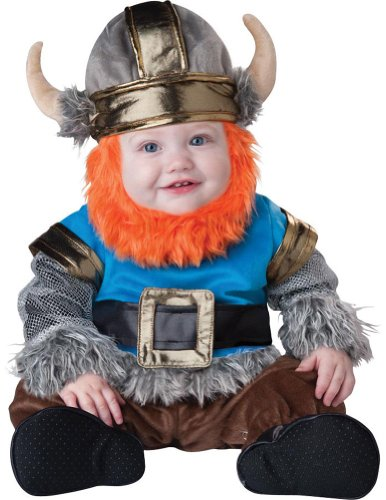 Baby-Toddler-Costume Lil Viking Toddler Costume 12-18 Months Halloween Costume