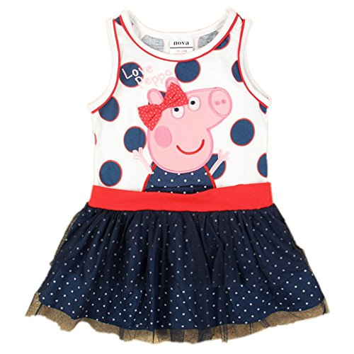 Kids Wear New Fashion Dresses Summer Casual Sleeveless Princess Baby Girls,2y