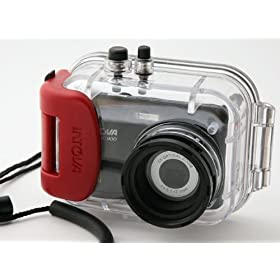 INTOVA IC800 8.0 Mega Pixel Underwater Digital Camera (Black)