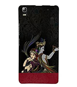 Shreshta Krishna 3D Hard Polycarbonate Designer Back Case Cover for Lenovo K3 Note