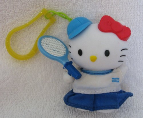 McDonalds Hello Kitty Tennis Player Clip - 1