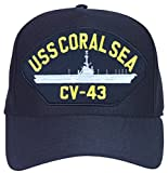 USS Coral Sea CV-43 Ship Ball Cap