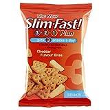 Slim.fast! Cheddar Bites Snack Bag 12 x 22g