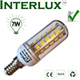 7W LED Corn bulb, E14 Warm white, Ideal for Ceiling Lights