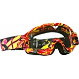 Fly Racing Mens Zone Goggles With Clear Lens 2014
