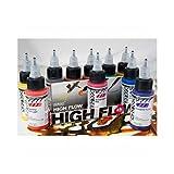 Golden 0000954-0 High Flow Acrylic 10-Color Transparent Set,Multicolor (Color: Multicolor, Tamaño: 1-Pack)