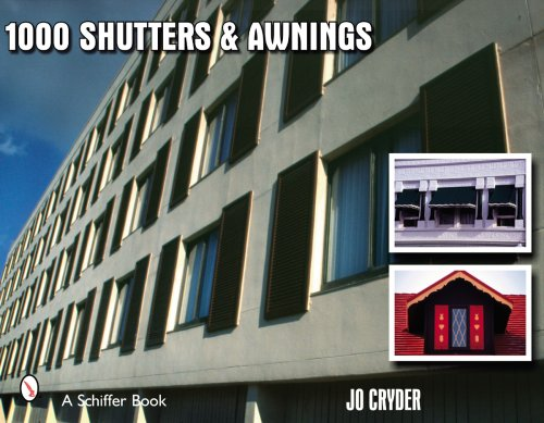 1000 Shutters and Awnings (Schiffer Book)