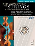 img - for New Directions for Strings Cello Book 1 book / textbook / text book