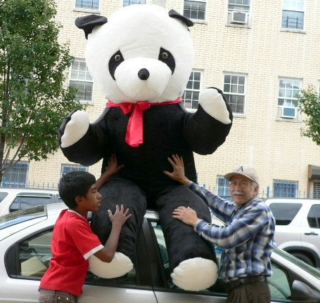 Buy 8 FEET TALL GIANT STUFFED PANDA BEAR – ABSOLUTELY HUMONGOUS AND SOFT AND VERY VERY VERY VERY BIG – AMERICAN MADE IN THE USA AMERICA