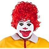 Red Fast Food Clown Wig