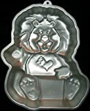 Wilton Brave Heart Lion Cake Pan (2105-3197, 1984) American Greetings