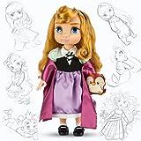 Disney Princess Animators Collection 16 Inch Doll Figure Aurora with Plush Friend Owl
