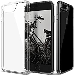 iPhone 7 Plus Case, Caseology [Waterfall Series] Slim Transparent Clear Cushion Grip [Clear] [Air Space Tech] for iPhone 7 Plus (2016)