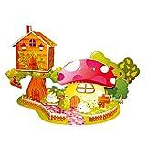 Juguetes Juegos Educativos Rompecapezas Puzzle 3D - Casa de Setas