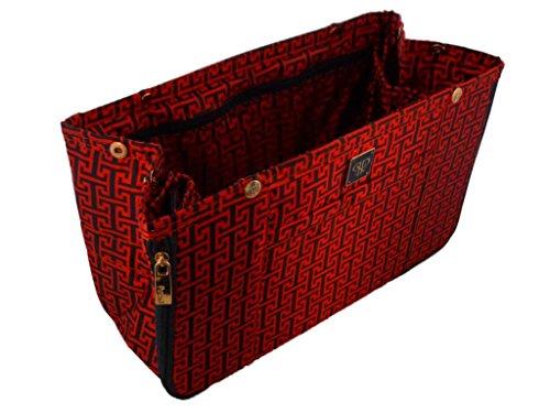 pursen espandibile borsa Organizer Borsa Inserto antiscivolo design Qualità, Small, Mykonos (Multicolore) - OIS881