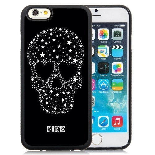 Skull pink Phone Case [Customizable by Buyers] [Create Your Own Phone Case] Slim Fitted Hard Protector Cover for Samsung Galaxy S4