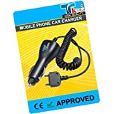 TK9K[TM] - MOBILE PHONE CAR BATTERY CHARGER FOR Sony Ericsson ONLY FOR V630i UK Spec CAR Charger for NI-MH, LI-ION & LI-POL Batteries. - Rapid charge. - 12 Months Warranty - CE approved - Lightweight - Multi input voltage capability - Maintains a constan