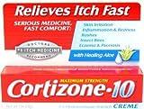 医薬かゆみ止めクリーム 強力タイプ 28g / Cortizone-10