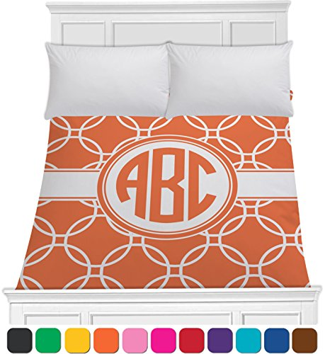 Linked Circles Duvet Cover (Personalized) - Toddler front-1017349