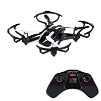 DBPOWER Hawkeye-I 3D Flip 2.4GHz Transformable RC Drone/Car with 2MP HD Camera