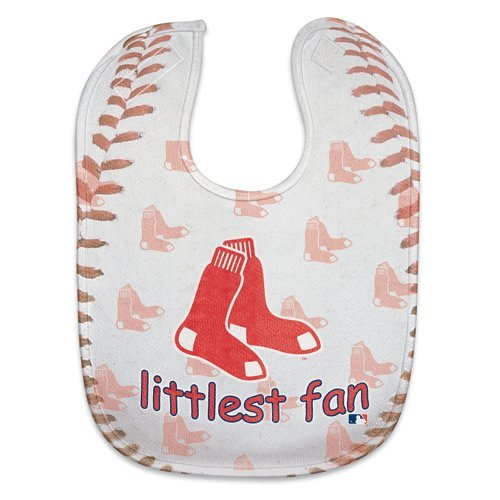 MLB Baseball Full Color Mesh Baby Bibs (Boston Red Sox) at Amazon.com