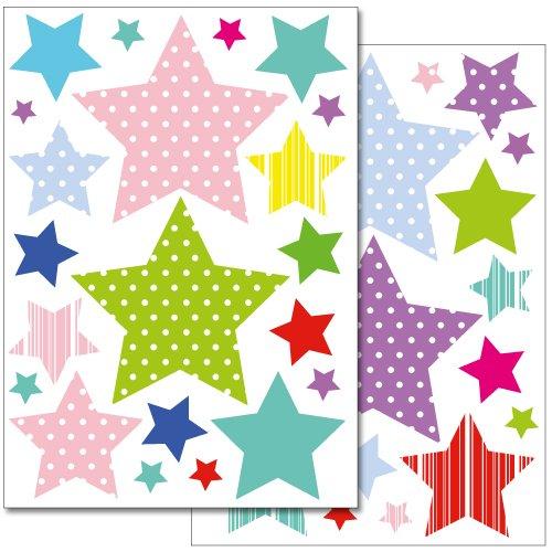 adesivi-da-parete-wandkings-stelle-colorate-in-fantasie-set-adesivi-42-adesivi-su-2-fogli-din-a4