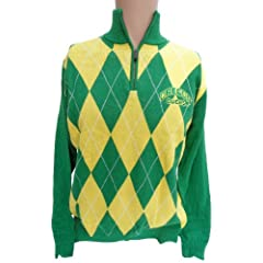 NCAA Oregon Ducks Argyle Sweater, XX-Large by Donegal Bay