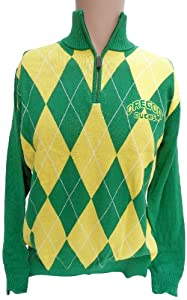 NCAA Oregon Ducks Argyle Sweater, Large by Donegal Bay