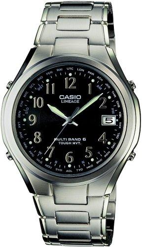 CASIO (カシオ) 腕時計 LINEAGE リニエージ TOUGH MVT ソーラー 電波時計 MULTIBAND6 LIW-T110D-1AJF メンズ