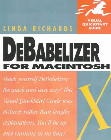 Debabelizer X for Macintosh
