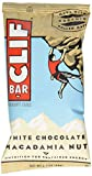 Clif Bar Energy Bar, White Chocolate Macadamia Nut, 2.4-Ounce Bars, 12 Count