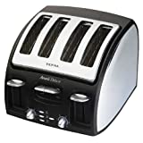 Tefal Avanti 6532817P Hi-Speed Toaster, 4 Slice, Brushed Chromeby Tefal