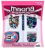 Magna Beads Metallic Necklace
