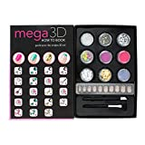 Claire's Women's Mega 3D Nail Art How To Book