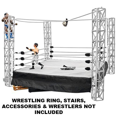 Highwire War Wrestling Action Figure Playset by Figures Toy Company (Wwe Weapons For Figures compare prices)