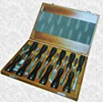 12 piece Wood Carving Chisel Set in W...