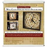 Diamond Tech Crafts Antiquity Mosaics Clock Kit