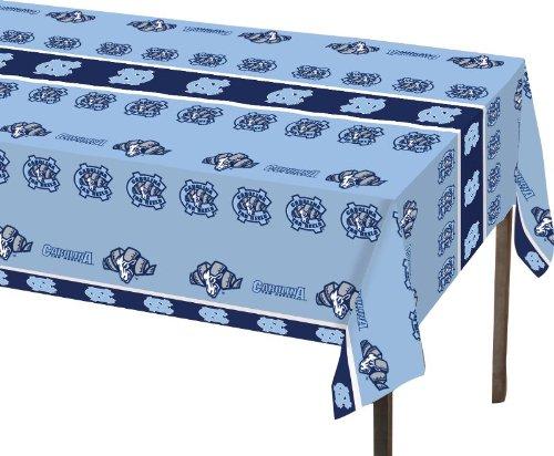 Creative Converting North Carolina Tar Heels Plastic Banquet Table Cover (Unc Tar Heel Tickets compare prices)
