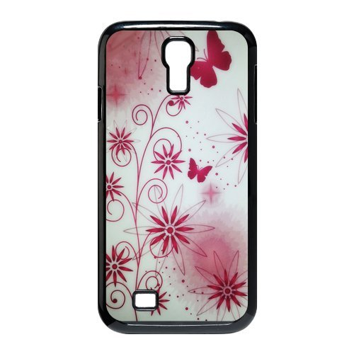 Generic Cell Phone Cases Cover For Samsung Galaxy S4 Case I9500 Case Fashionable Art Designed With Beautiful Butterfly - K Personalized Shell front-1035310