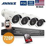 Annke® 4CH 720P HD POE NVR