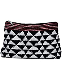 Diwaah Handcrafted Embroidered Rug Zip Top Bag (DWH000000577)