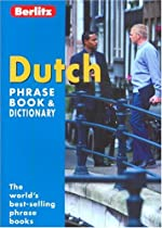 Berlitz Dutch Phrase Book & Dictionary (Berlitz Phrase Book)