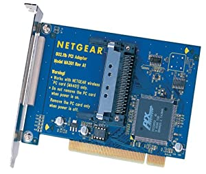 Netgear MA 301 802.11b Wireless PCI Adapter