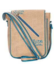 Jute Cottage Jute Is Cute Flap Sling Bag