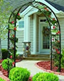 Green Vintage Metal Garden Arbor