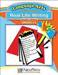 NewPath Learning Real Life Writing Reproducible Workbook, Grade 3-4